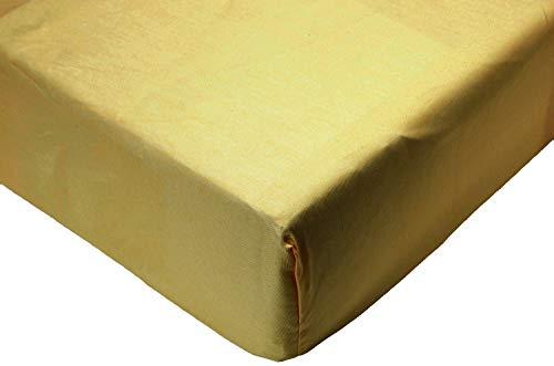 Amazon Basics AB 200TC Poly Cotton, Combinación de algodón, Crema, 180 x 200 x 30 cm