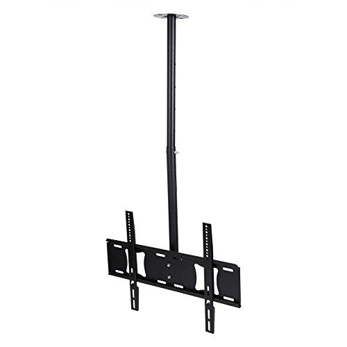 Fernseher Deckenhalterung, 360 Grad Drehbar Neigbar 32-63 Zoll TV LCD LED Deckenhalterung, Höhenverstellbar Fernseher Halter Belastung bis zu 80 kg max