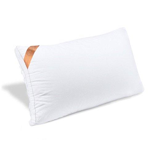 AYO 枕 安眠 人気 肩こり 良い通気性 快眠枕 高級ホテル仕様 高反発枕 横向き対応 丸洗い可能 立体構造43x63cm 家族のプレゼント ホワイト