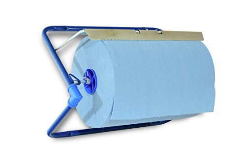 SemyTop ST-88522 Putzrollen-Spender, Wandhalter, Metall, Blau