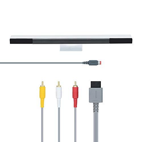 Mcbazel 2 en 1 cable AV y Cabledo Rayo infrarojo Barra de...