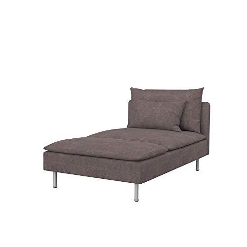 Soferia - Funda de Repuesto para IKEA SÖDERHAMN Chaise Longue