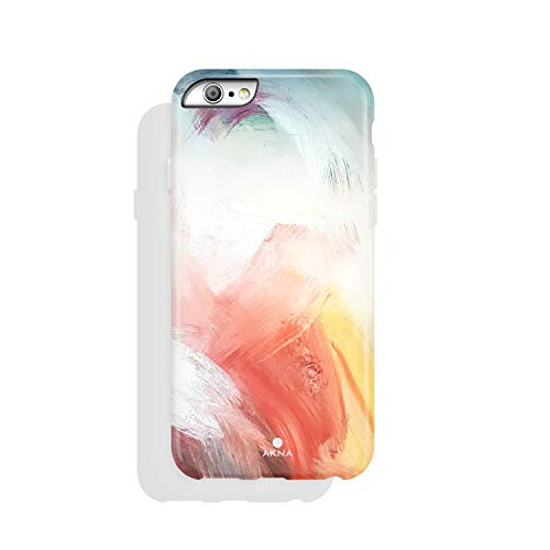 iPhone 6 & iPhone 6s Case Watercolor, Akna Charming Series High Impact Silicon Cover with Full HD+ Graphics for iPhone 6 & iPhone 6s (Graphic 101773-U.S)