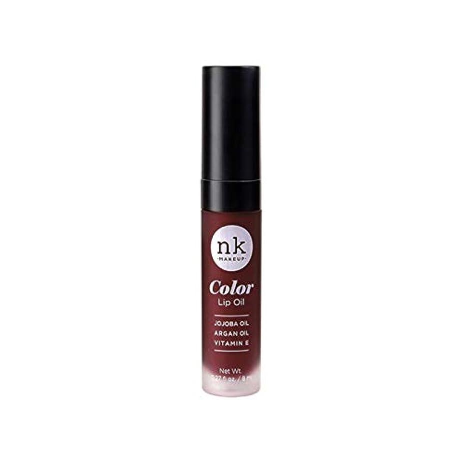 うねる着飾る嫌悪(3 Pack) NICKA K Color Lip Oil - Regina (並行輸入品)