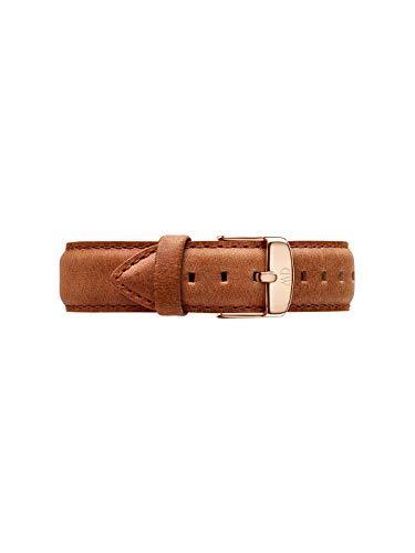 Daniel Wellington Classic Durham, Hellbraun/Roségold Uhrenarmband, 18mm, Leder, für Damen und Herren