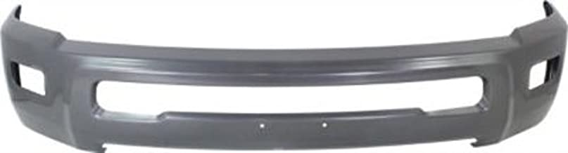CPP Painted Gray Steel Front Bumper for Dodge Ram 2500, Ram 2500, 3500 - CH1002392