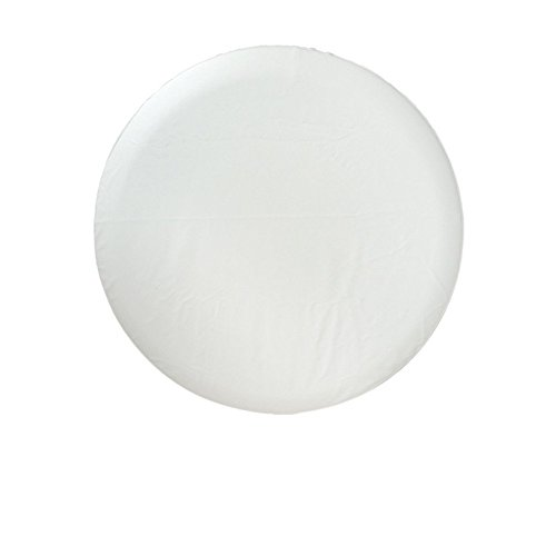 Altopcar White Spare Tire Cover Universal Overdrive Fit for Jeep, Trailer, RV, SUV, Truck, Honda CRV and Many Vehicle, Wheel Diameter 24inch - 26inch, Tire Protector R14(24'-26' Diameter)