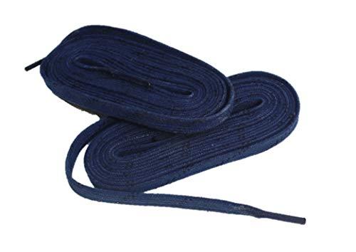 Schnürsenkel farbig HTX3 Eishockey gewachst Pro line (blau, 274)