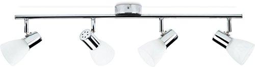 Philips Essentials LED Spot Leucht Coir, 4.3W, inkl. Leuchtmittel, 4-flammig, chrom