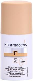 PHARMACERIS Ph Intense Coverage Mild Fluid Foundation Ivory 01, 30ml