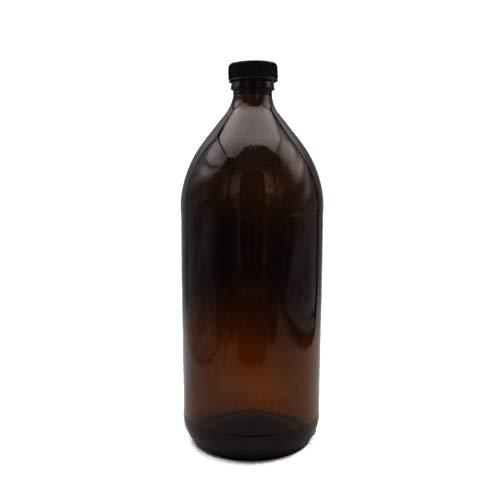 frascos de vidrio ambar de 1 litro fabricante Genérica
