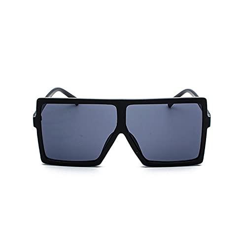 XWKKY Gafas De Sol De Gran Tamaño Gafas De Sol De Moda De Lujo Para Mujer Gafas De Sol Cuadradas Retro Clásicas Para Mujer