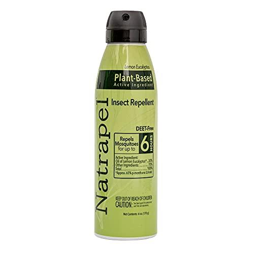 Natrapel Lemon Eucalyptus Insect Repellent Spray 6 oz