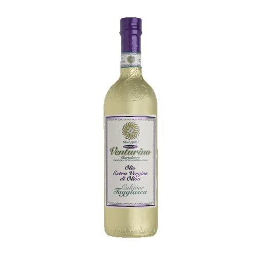 Frantoio Venturino, Natives Olivenöl Extra aus 100 {794e0398f69f11bac201b45f7fb413cfefde113e5bab819ea70c8f598396197c} Taggiasca Oliven, aus Italien, Italienisches Olivenöl, Ligurien, 750 ml