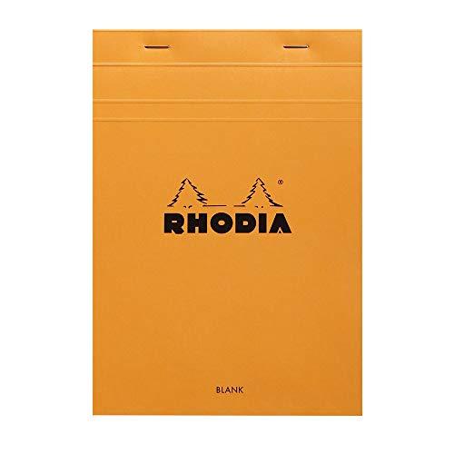 Rhodia Notepad, No16 A5, Plain - Orange