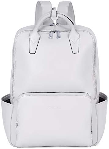 BOSTANTEN Laptop Backpack for Women 15 6 inch Computer Genuine Leather Backpack Purses College product image