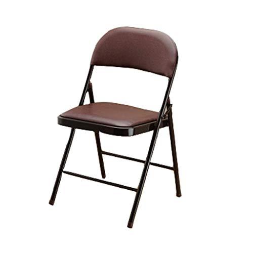 Wooden stool Chaise de bureau Sleeve Formation minimaliste Chaise pliante Chaise d'ordinateur Chaise de portable en plastique Portable Tabouret pliant (noir) (Couleur : #2)