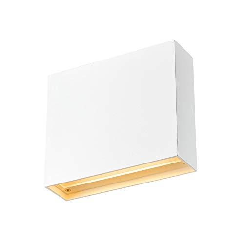 SLV Wandaufbauleuchte QUAD FRAME 19 / Wand-Beleuchtung innen, LED Spot, Aufbau-Leuchte, Wandaufbauleuchte, Wandstrahler / 11.0W 640lm weiß