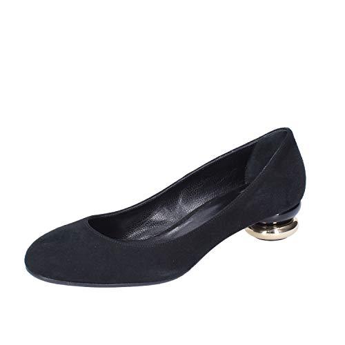ROBERTO BOTTICELLI Zapatos de salón Mujer Gamuza Negro
