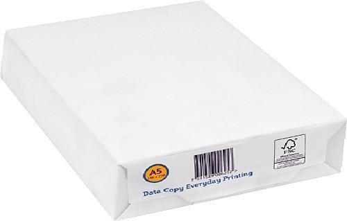 Data Copy 260733 - Papel para fotocopiadoras (500 hojas A5), blanco
