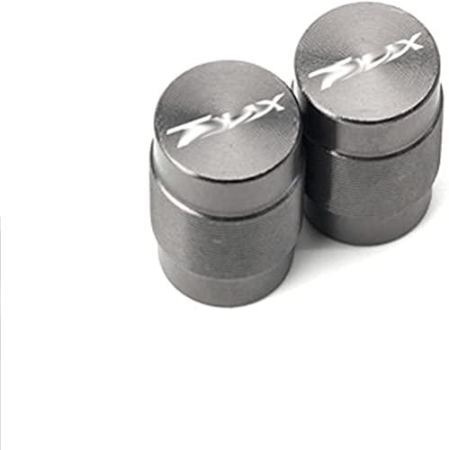 YOUYOUNX Accesorios de Motocicleta Tapas de Eje de válvula de neumático de Rueda CNC Aire y, Apto para T/MAX 500530 T MAX 500 T-MAX530 DX SX 2011-2020-Titanium