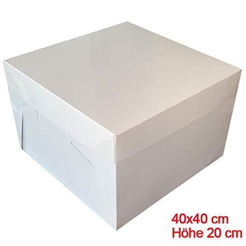 Mytortenland Caja para Tarta (40 x 40 x 20 cm, 10 Unidades) A Partir de 50 € Einkaufswert (sólo DE)