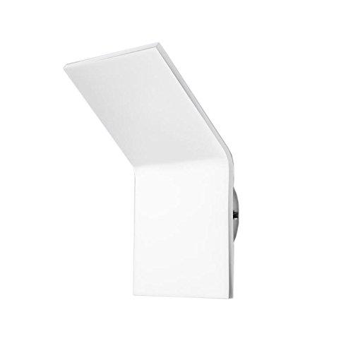 Pujol Iluminación Plasma Aplique bañador LED de pared, 8 W, Blanco