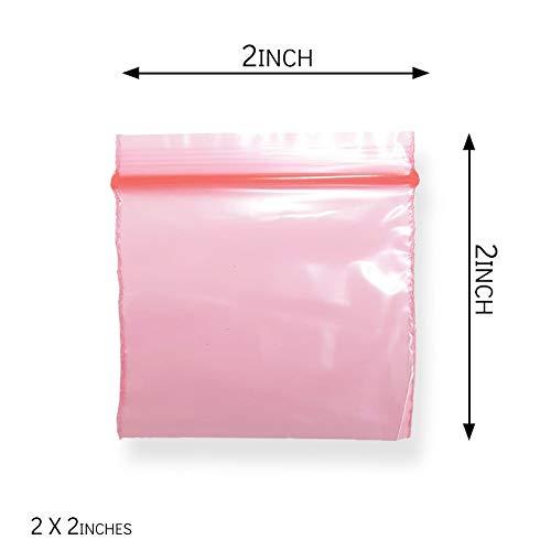 2 x 2 plastic tassen in verschillende uitvoeringen verkrijgbaar - pak van 300