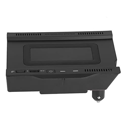 caricatore wireless w177 Mxzzand Vassoio di Ricarica per Telefono con Caricatore Wireless da 15 W per Benz W177 / W246 / A180 / A200 / B200 2019-2020