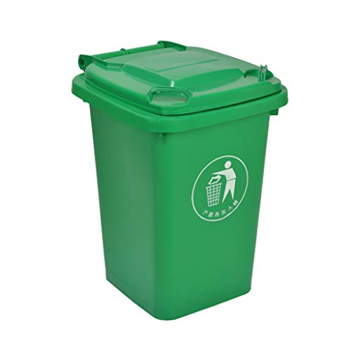Buy Cheap LXF Outdoor Waste Bins Green Outdoor Plastic Waste bin, Trash can, Trash can, Heavy Duty T...