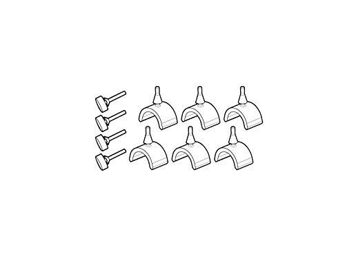 SHAD - D1B23GOR/214 : Recambio soportes maletas laterales SH23