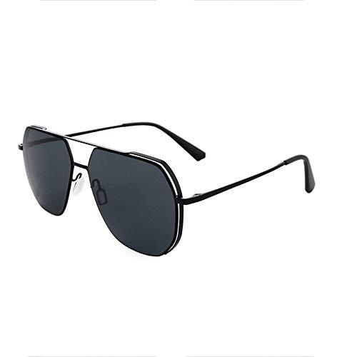 WWDKF Gafas De Sol Hombre, Gafas De Sol Polarizadas De Nailon, Gafas De Pesca De Conducción De Moda Ultraligeras, Luz Polarizada Anti-Ultravioleta Y Anti-Ultravioleta Eficaz,A