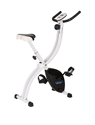 Weslo Easy Cyclette Pieghevole Unisex Adulto, Bianco/Nero