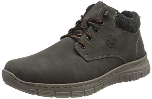 Rieker Herren B5632 Mode-Stiefel, grau, 40 EU