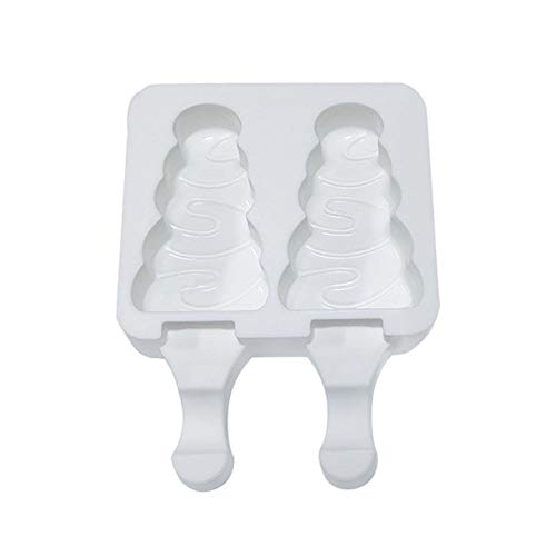 FXXX Popsicle Molds Set Silicone Ice Cake Pop Mold Maker Durable Reusable Ice Cream Mold DIY Popsicles Tray Holders for Summer Cake and Ice Cream Pudding