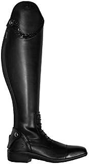 Königs Botas de equitación Nevio Lace | Color: negro | Tamaño: 6,5 | Forma del vástago: 52/40