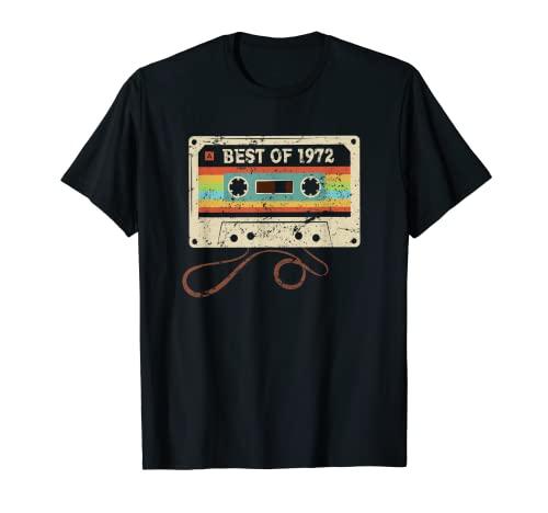 Best of 1972 49 Cumpleaños Regalo 49 Años Hombre Mujer Camiseta