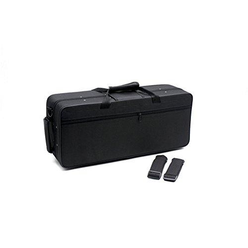 Bolsa de Trompeta Resistente al Agua Estuche de Trompeta con Compartimento Diferente Caja de Trompeta de Tela Oxford 600D
