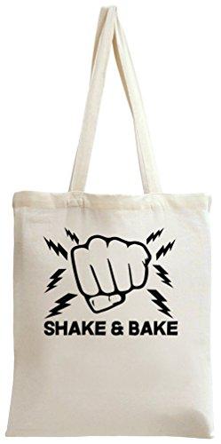 Shake & Bake Slogan Tote Bag