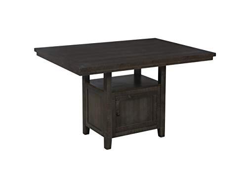 Furniture D318-CHT Counter Height Table, Dark Oak