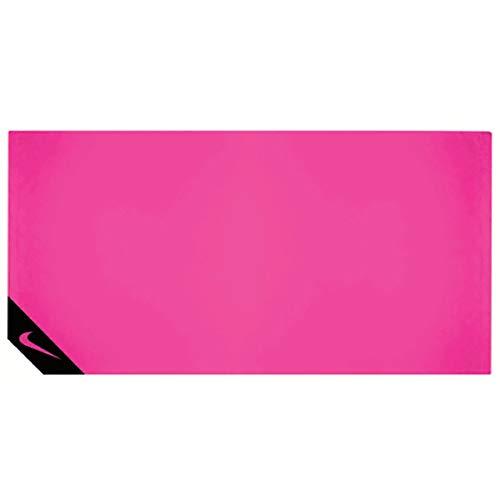 Nike SPORTAX - Toalla de enfriamiento (tamaño pequeño), Color Rosa y Negro