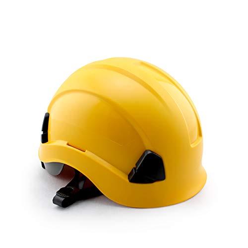 QL Casco de protección para la Cabeza Ajustable en ABS, cómodo Casco de ventilación, Adecuado para Equipos de protección Personal de Varios Tipos de Cabeza ⭐
