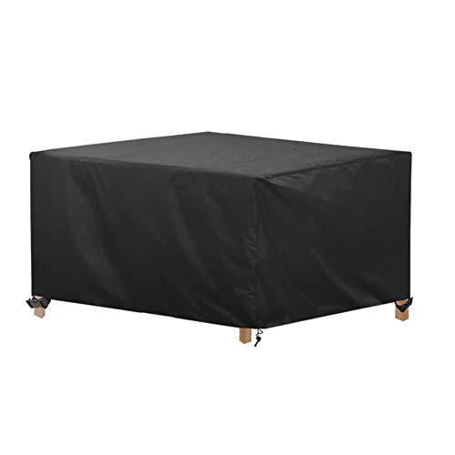 AWNIC Garden Furniture Covers Waterproof Outdoor Table Cover Garden Furniture Set Cover for Outdoor Dinning Table Chairs Tear Resistence Oxford Fabric 210X120X71cm