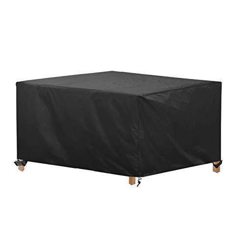AWNIC Copertura per Tavolo da Giardino Copertura per Mobili da Giardino Resistente allo Strappo Impermeabile Telo Oxford 210X120X71cm