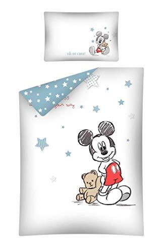 Juego de ropa de cama (2 piezas) para bebé 100% algodón, tamaño: 100x...
