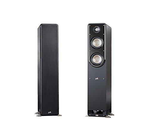 Polk Audio 2X Signature Series S50 Small 2-Way American HiFi Home Theater Tower Speaker (2 Speakers)
