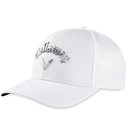 Callaway Golf 2020 Camo Snapback Hat White, One Size