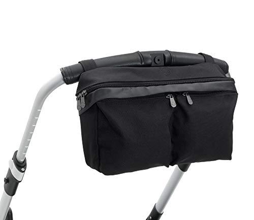 Bugaboo - Borsa universale per passeggino, da fissare al manubrio, colore: nero