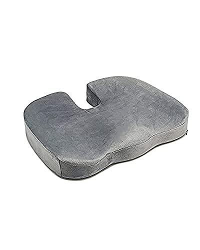 Cuscino ortopedico Ischia, per sedile auto e ufficio, in Memory Foam, cuscino per coccige e cuscino per seduta in memory foam