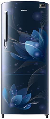 Samsung 192 L 3 Star Inverter Direct-Cool Single Door Refrigerator (RR20T272YU8/NL, Saffron Blue)